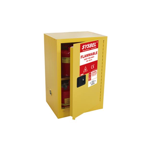 Tủ đựng hóa chất chống cháy 12 Gallon, cửa tự đóng