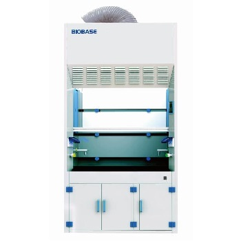 Tủ hút khí độc pha hoá chất 1.5 mét, thân tủ bằng nhựa PP