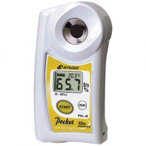 Khúc xạ kế đo độ ngọt cầm tay kỹ thuật số