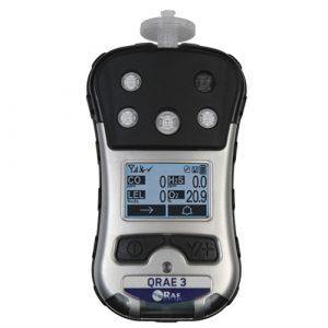 Máy đo khí độc - đo 04 khí: LEL/ H2S/ CO/ O2