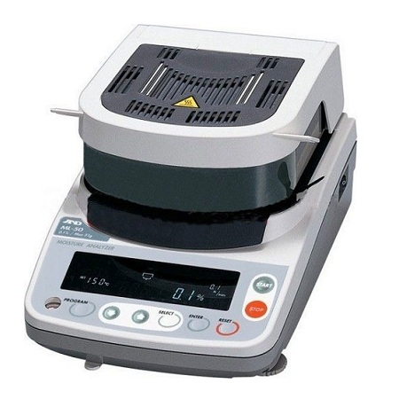 Cân sấy ẩm phòng thí nghiệm 51gx0.002g - model: MF50