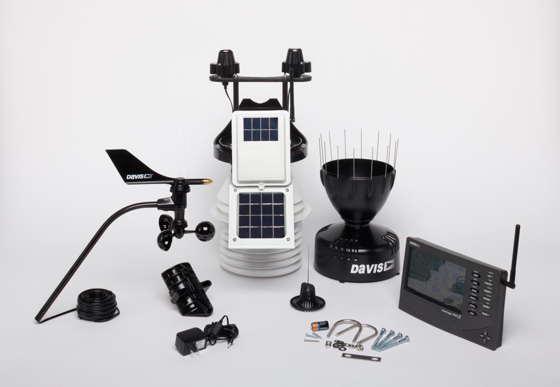 Trạm quan trắc thời tiết khí tượng tự động Wireless Vantage Pro2