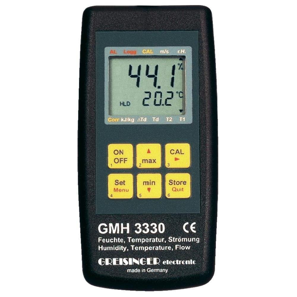 Thiết bị đo lưu lượng nước dòng kênh hở,Model: GMH 3330