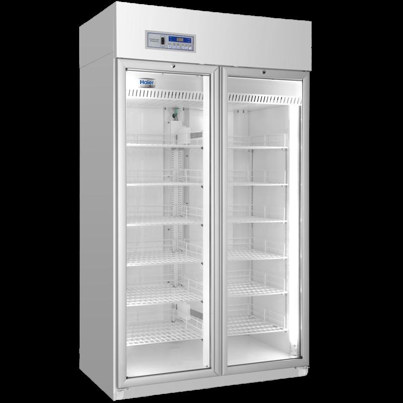 Tủ bảo quản vắc xin, thuốc, dược phẩm 890 lít, 02 cửa kính, Model: HYC-940